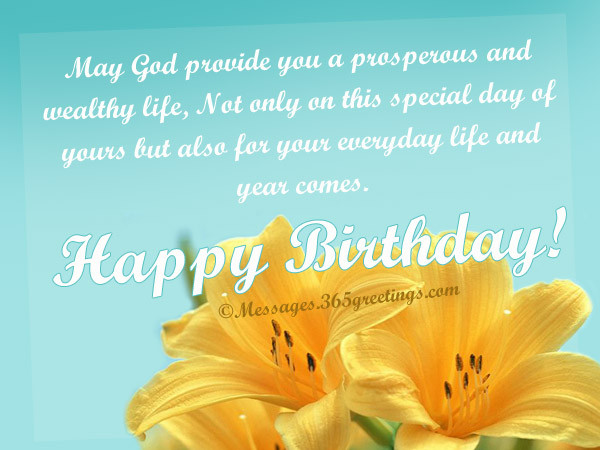 Best ideas about Birthday Wishes Religious . Save or Pin Christian Birthday Wishes Holiday Messages Greetings and Now.