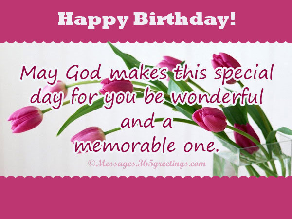 Best ideas about Birthday Wishes Religious . Save or Pin HAPPY BIRTHDAY TO YOU – God s HotSpot Now.