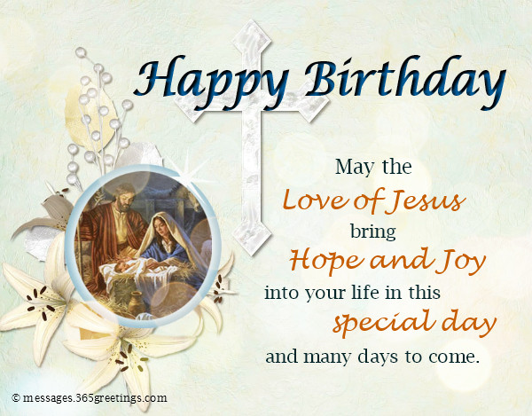 Best ideas about Birthday Wishes Religious . Save or Pin Christian Birthday Wishes Religious Birthday Wishes Now.