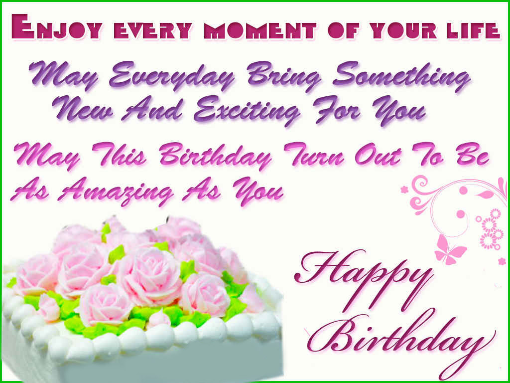 Best ideas about Birthday Wishes Sayings . Save or Pin Birthday Messages Now.