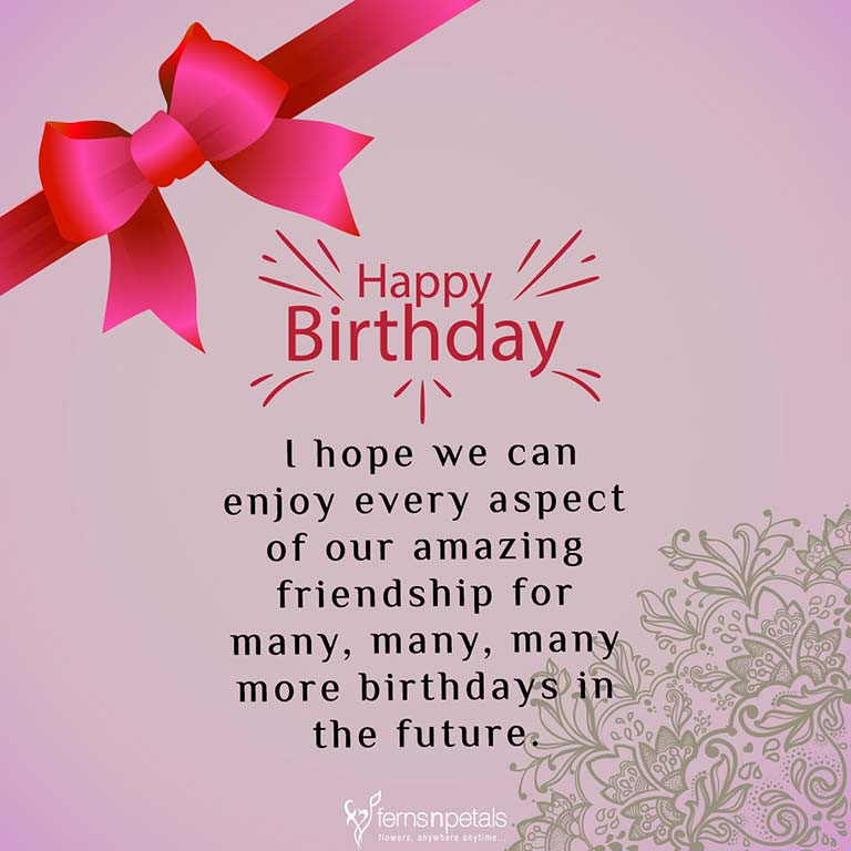 Best ideas about Birthday Wishes Sayings . Save or Pin 30 Best Happy Birthday Wishes Quotes & Messages Ferns Now.
