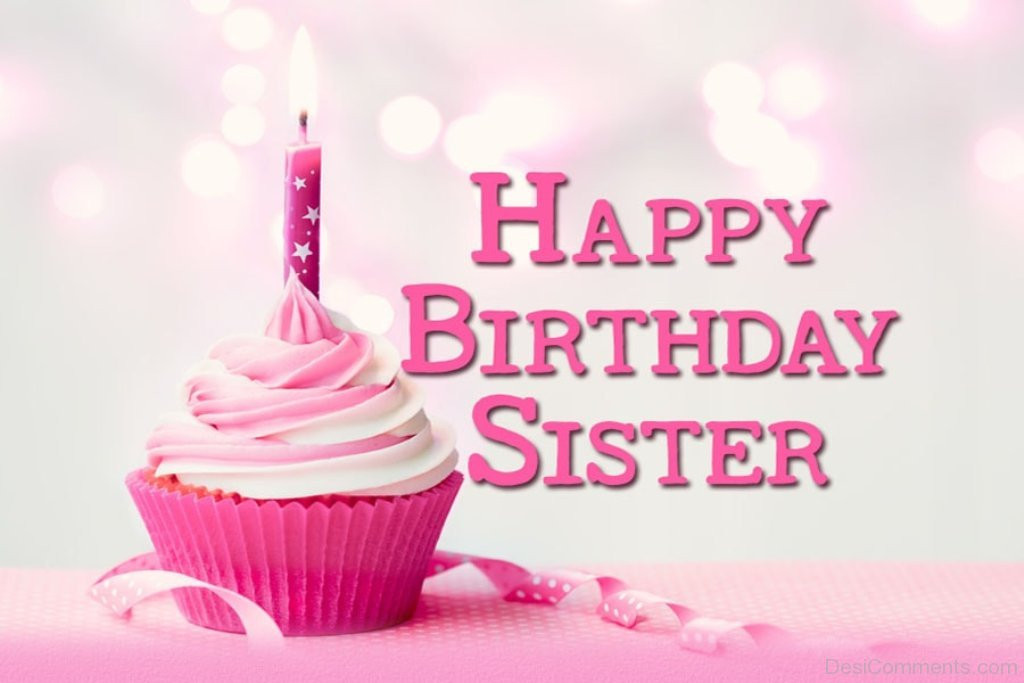 Best ideas about Birthday Wishes Sister . Save or Pin Birthday Wishes for Sister Graphics for Now.