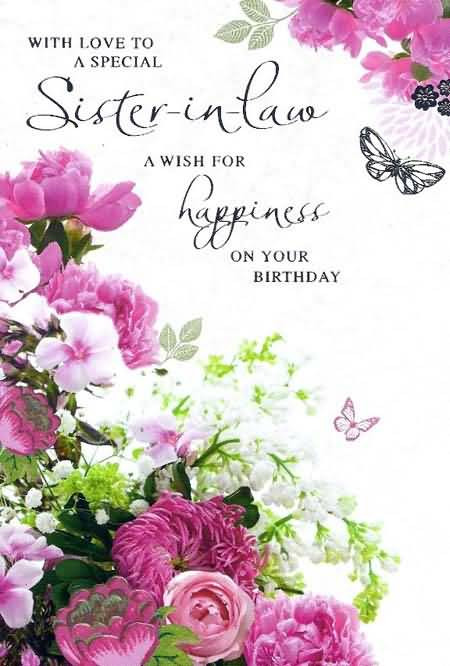 Best ideas about Birthday Wishes Sister In Law . Save or Pin Happy Birthday Sister birthday sister in law pictures Now.