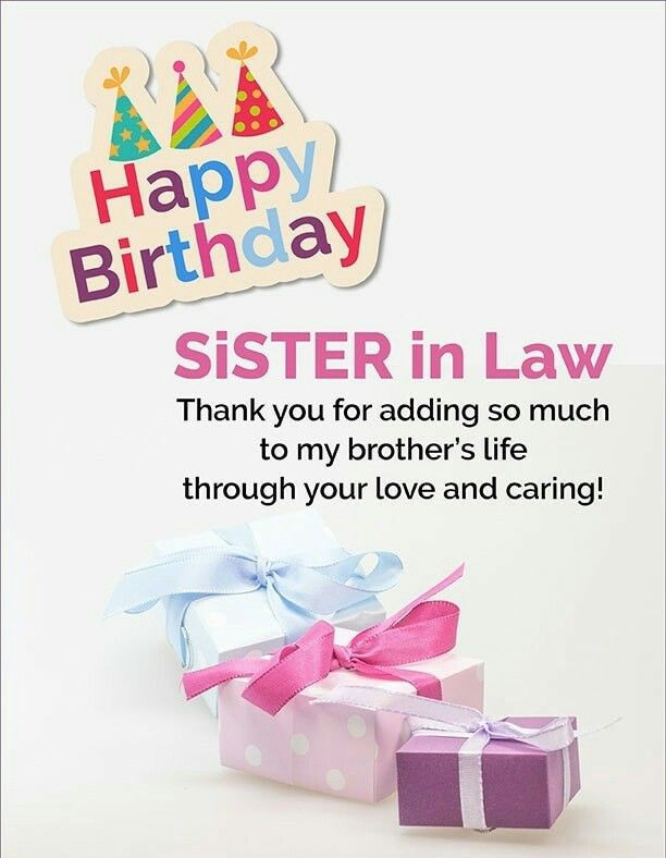 Best ideas about Birthday Wishes Sister In Law . Save or Pin Best 25 Sister in law birthday ideas on Pinterest Now.