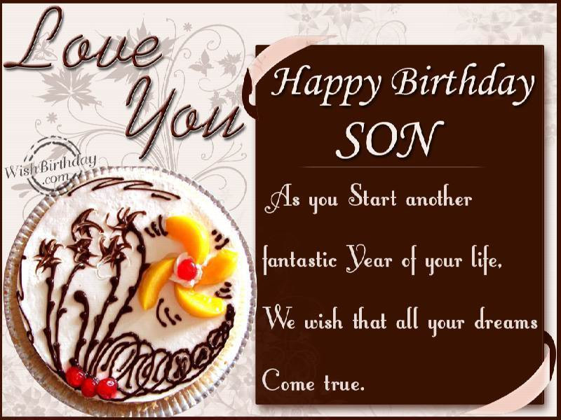 Best ideas about Birthday Wishes Son . Save or Pin Funny Free Son birthday wishes daughter Now.