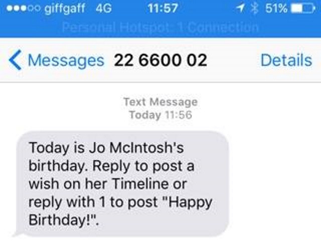 Best ideas about Birthday Wishes Text . Save or Pin Texting Users About Friends' Birthdays – Adweek Now.