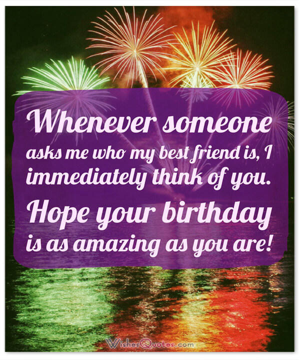 Best ideas about Birthday Wishes To A Best Friend . Save or Pin Heartfelt Birthday Wishes for your Best Friends with Cute Now.