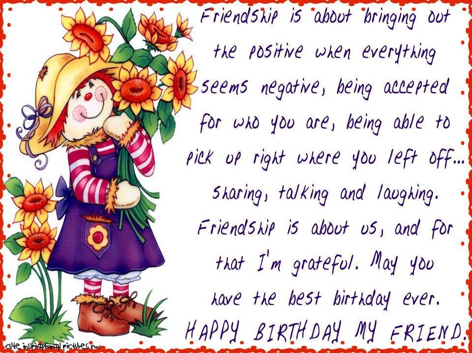Best ideas about Birthday Wishes To A Best Friend . Save or Pin funny love sad birthday sms happy birthday wishes to best Now.