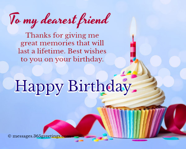 Best ideas about Birthday Wishes To A Friend . Save or Pin Happy Birthday Wishes For Friends 365greetings Now.