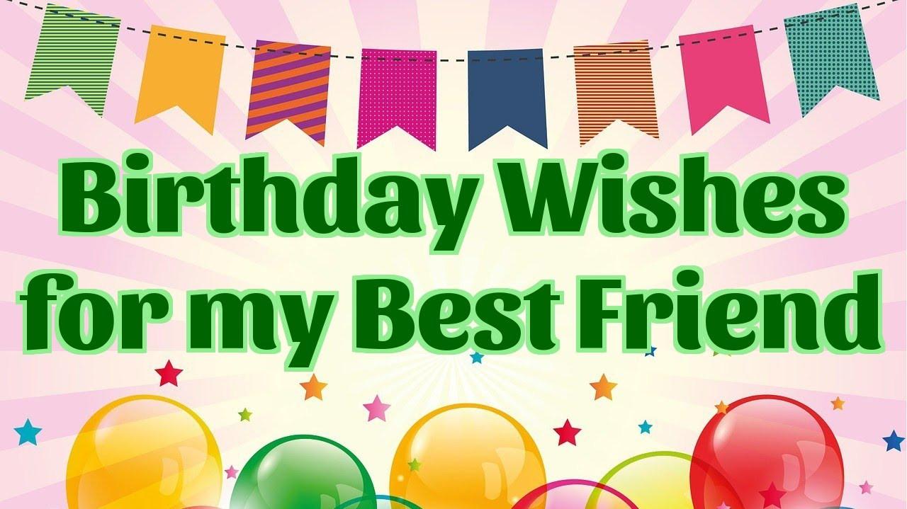 Best ideas about Birthday Wishes To Best Friend . Save or Pin Birthday Wishes for my best Friend Now.