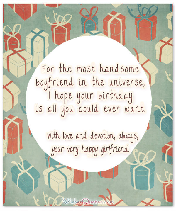 Best ideas about Birthday Wishes To Boyfriend . Save or Pin Cute Birthday Wishes for your Charming Boyfriend Now.