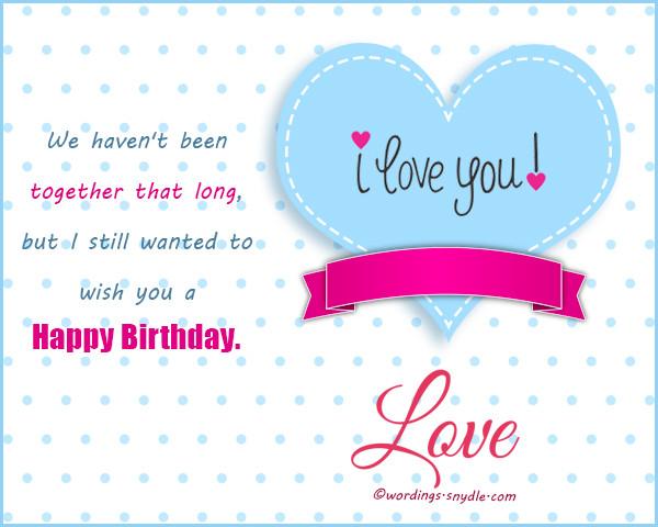 Best ideas about Birthday Wishes To Boyfriend . Save or Pin Birthday Wishes for Boyfriend and Boyfriend Birthday Card Now.