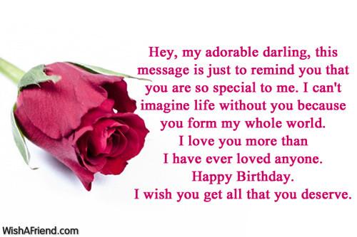 Best ideas about Birthday Wishes To Boyfriend . Save or Pin Birthday Wishes For Boyfriend Now.