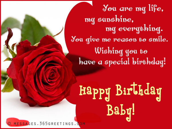 Best ideas about Birthday Wishes To Girlfriend . Save or Pin Birthday Wishes for Girlfriend 365greetings Now.