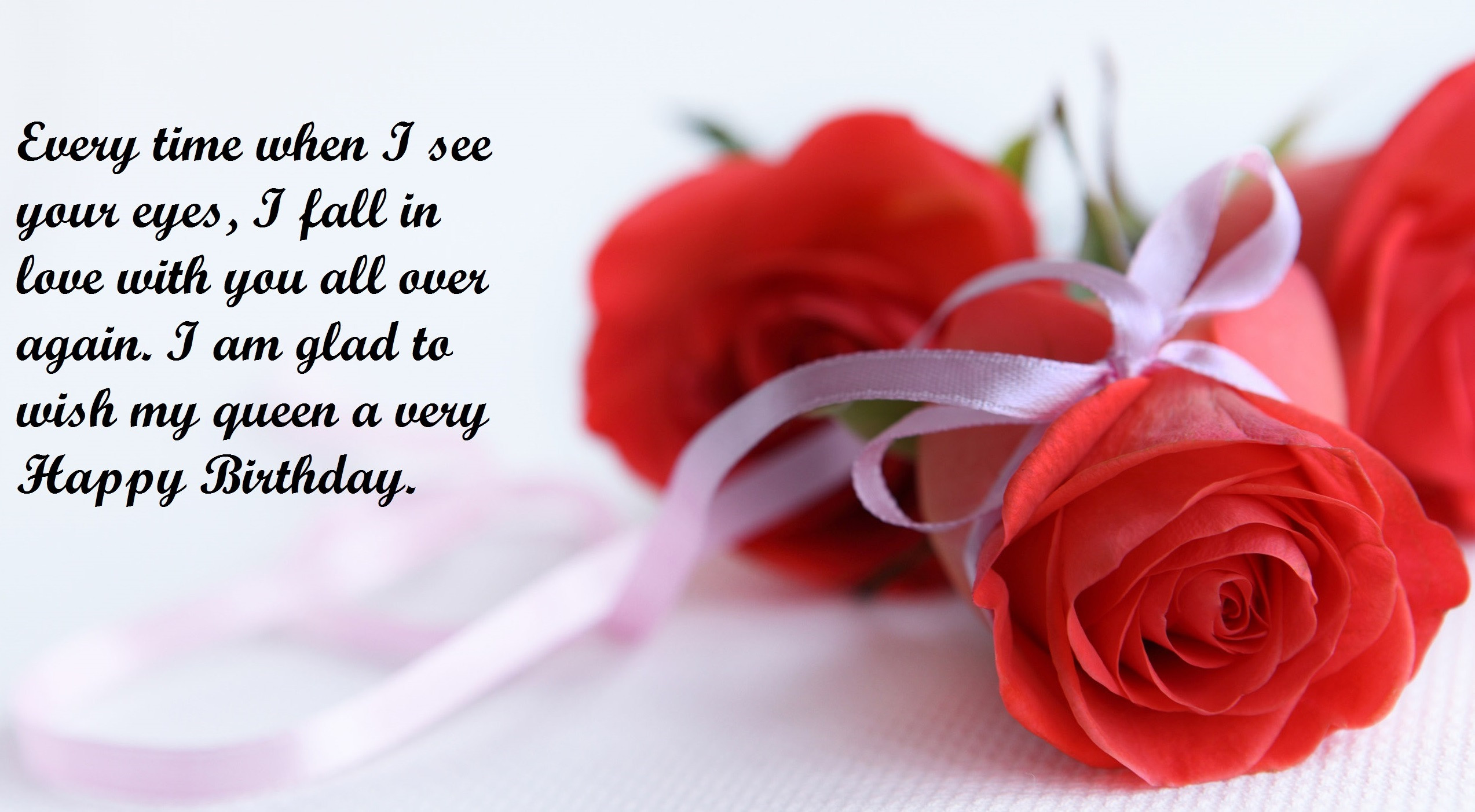 Best ideas about Birthday Wishes To Girlfriend . Save or Pin Red Rose for sending a greetings to your Now.