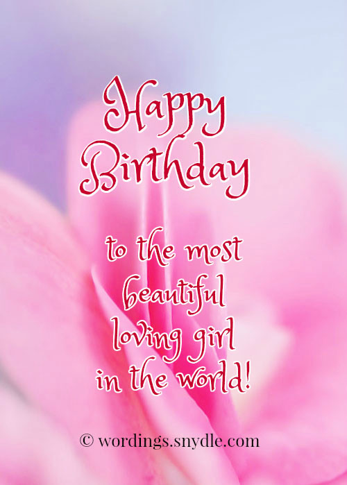 Best ideas about Birthday Wishes To Girlfriend . Save or Pin Happy Birthday Wishes for Girlfriend Wordings and Messages Now.