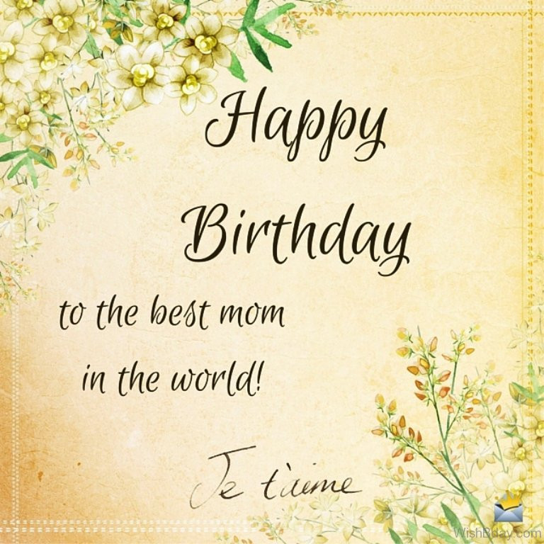 Best ideas about Birthday Wishes To Mom . Save or Pin 50 Birthday Wishes For Mom Now.