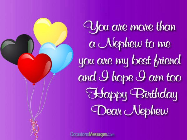 Best ideas about Birthday Wishes To Nephew . Save or Pin Top 300 Birthday Wishes for Nephew Occasions Messages Now.