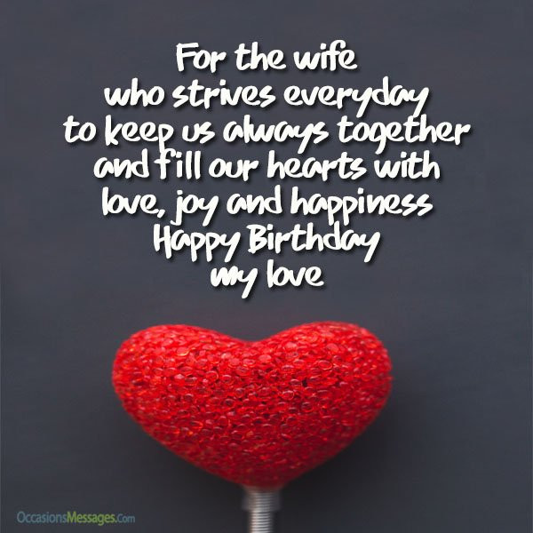 Best ideas about Birthday Wishes To Wife . Save or Pin Best Birthday Wishes for Wife Birthday Messages for Wife Now.