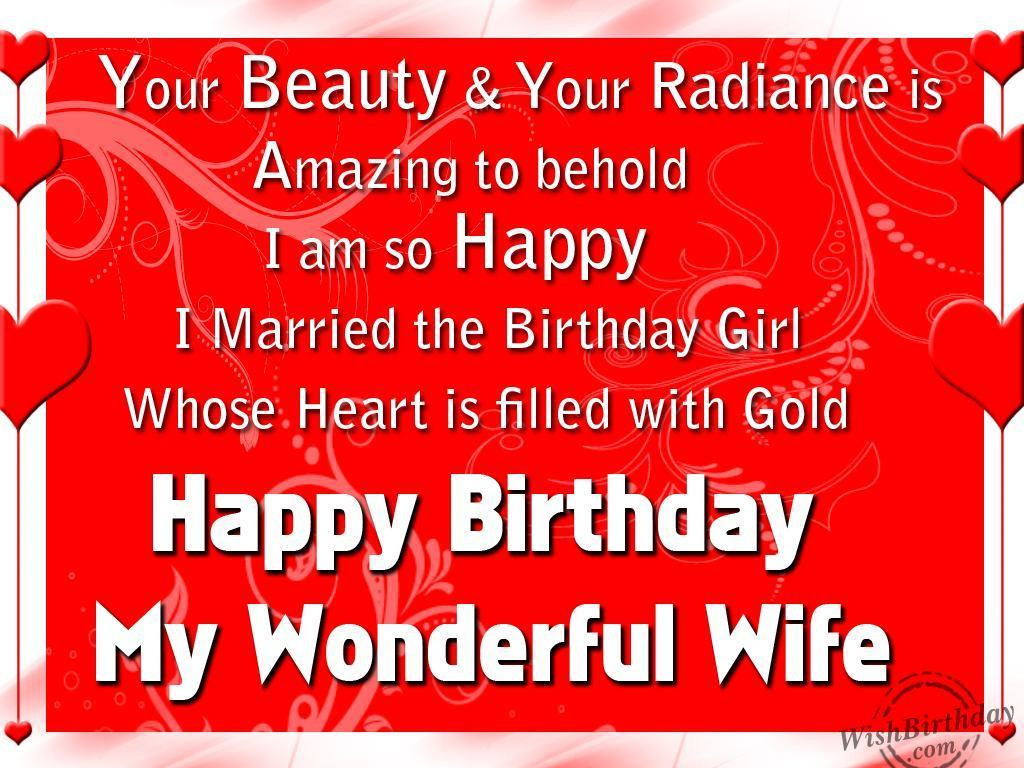 Best ideas about Birthday Wishes To Wife . Save or Pin Birthday Wishes For Wife Page 16 Now.