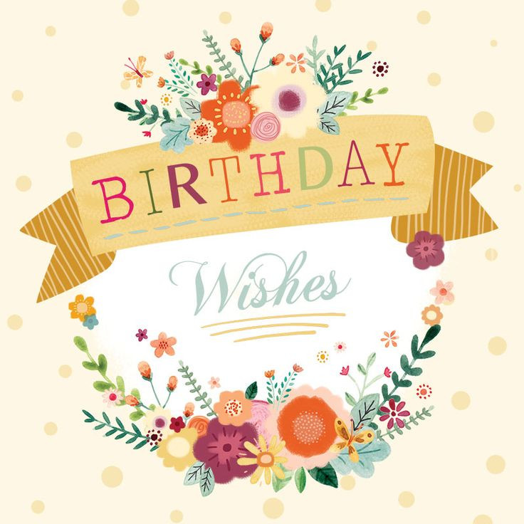 Best ideas about Birthday Wishes Words . Save or Pin 75 best Birthday Words Cards images on Pinterest Now.