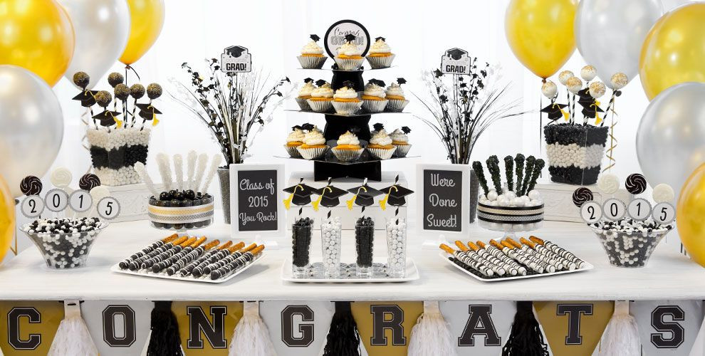 Best ideas about Black And Gold Birthday Decorations . Save or Pin Black and gold party decorations Now.