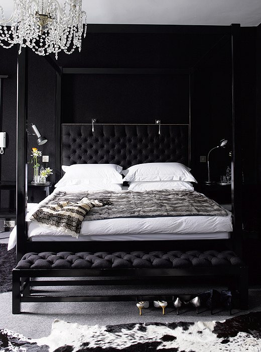 Best ideas about Black Bedroom Ideas . Save or Pin Black Bedroom Contemporary bedroom Now.