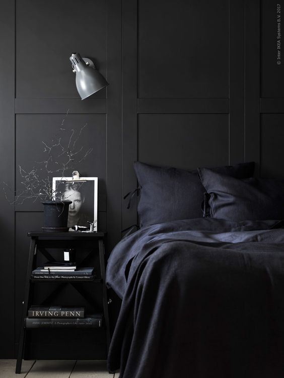 Best ideas about Black Bedroom Ideas . Save or Pin Black Bedroom Ideas Inspiration For Master Bedroom Now.