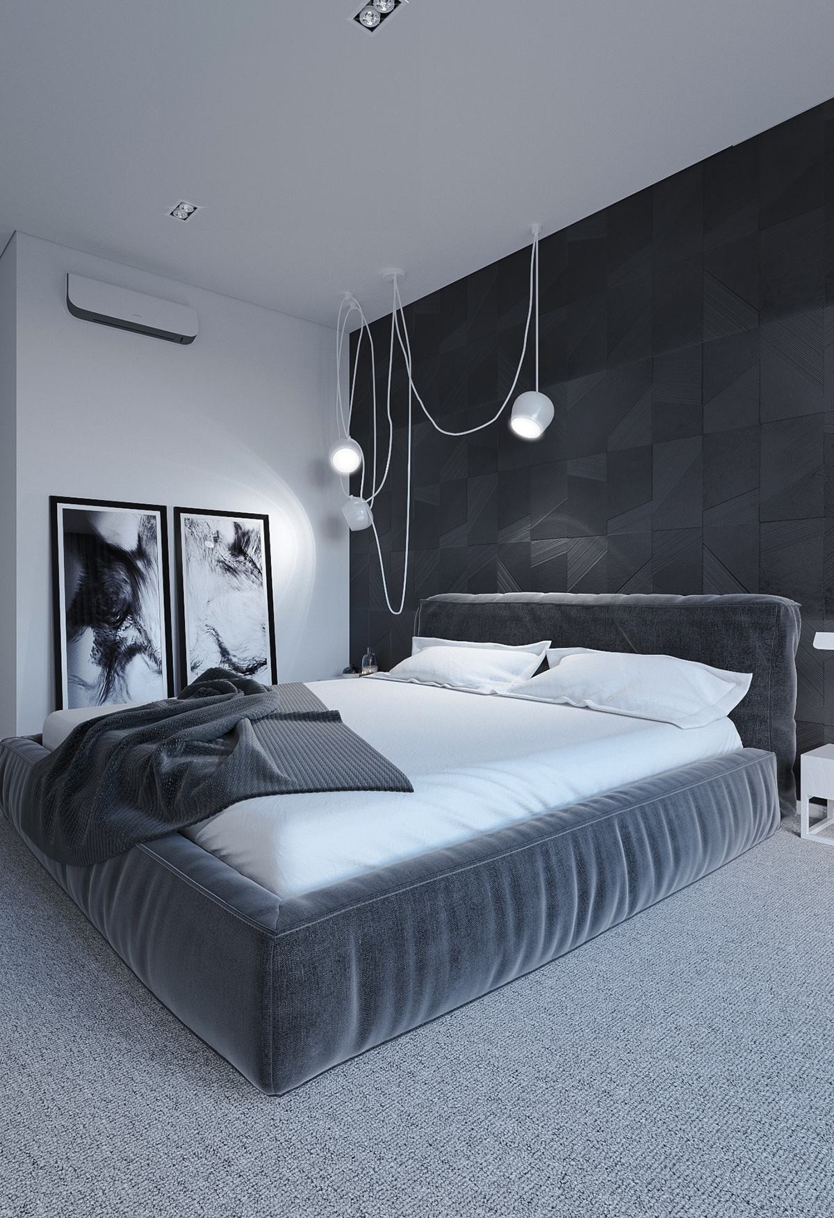 Best ideas about Black Bedroom Ideas . Save or Pin 6 Dark Bedrooms Designs To Inspire Sweet Dreams Now.