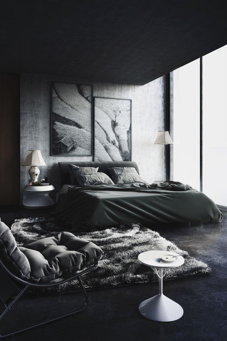 Best ideas about Black Bedroom Ideas . Save or Pin Back To Black Decorating With Dark Color Schemes Now.