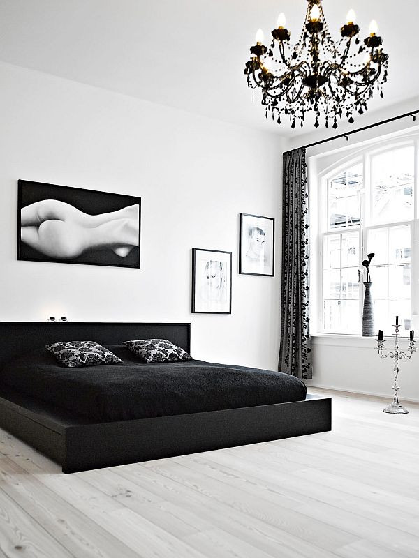Best ideas about Black Bedroom Ideas . Save or Pin Black And White Bedroom Interior Design Ideas Now.
