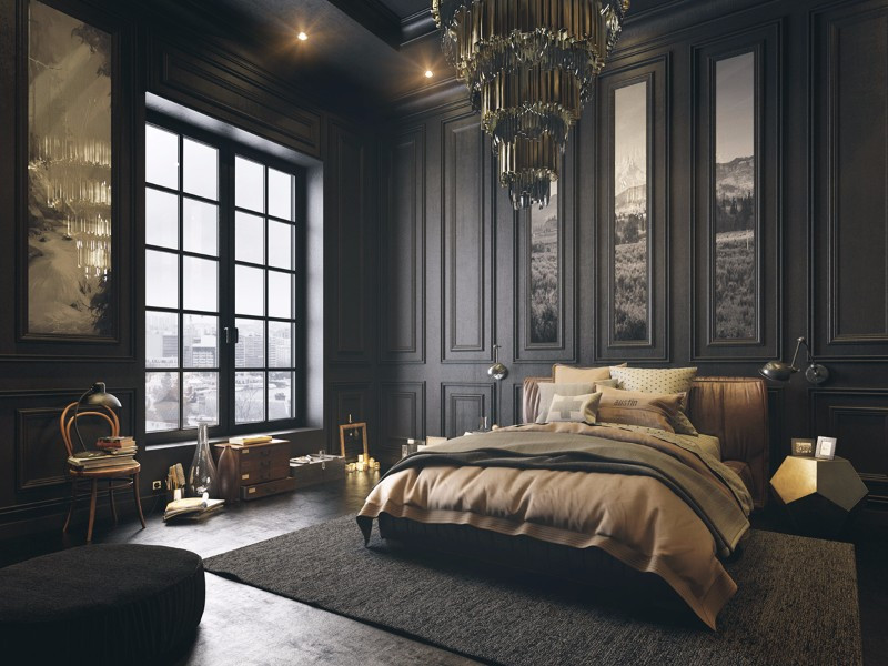 Best ideas about Black Bedroom Ideas . Save or Pin Mystery & Charm with 10 Black Bedrooms – Master Bedroom Ideas Now.