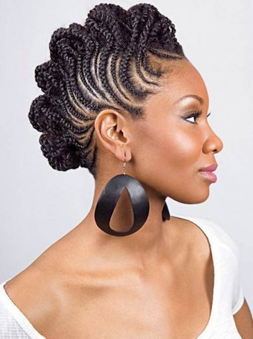 Best ideas about Black Braided Updo Hairstyles . Save or Pin 70 Best Black Braided Hairstyles That Turn Heads in 2018 Now.