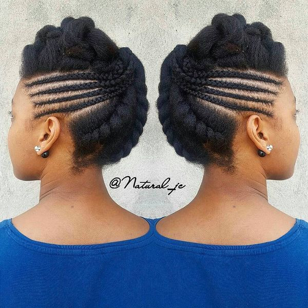 Best ideas about Black Braided Updo Hairstyles . Save or Pin African Braids Hairstyles Pretty Braid Styles for Black Women Now.