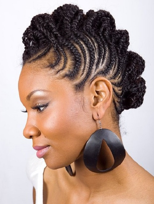 Best ideas about Black Braided Updo Hairstyles . Save or Pin African American Hairstyles Trends and Ideas Braided Now.