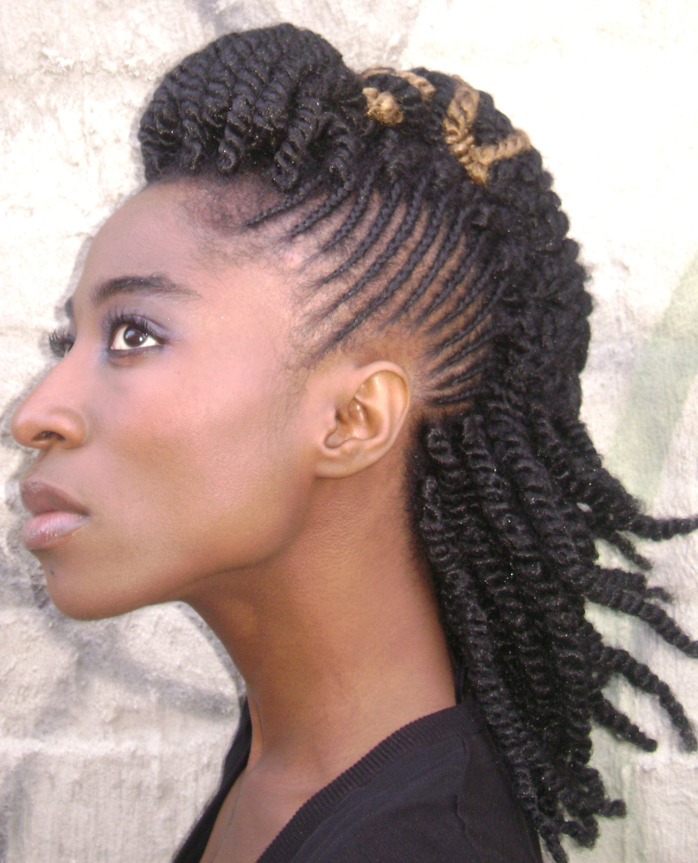 Best ideas about Black Braided Updo Hairstyles . Save or Pin Hairstyle for african american women Hairstyle for black Now.