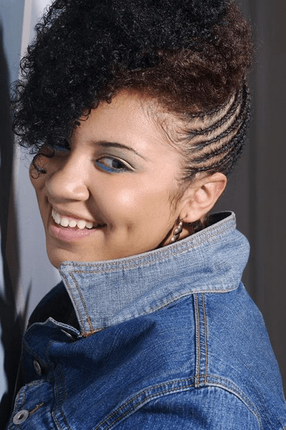 Best ideas about Black Braided Updo Hairstyles . Save or Pin Hottest Natural Hair Braids Styles For Black Women in 2015 Now.