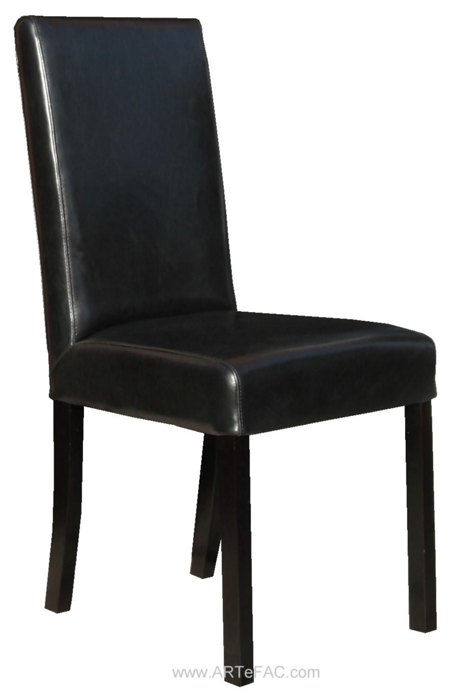 """Best ideas about Black Dining Room Chairs . Save or Pin """"Black Leather Dining Room Chairs and Leather Bar Stools Now."""