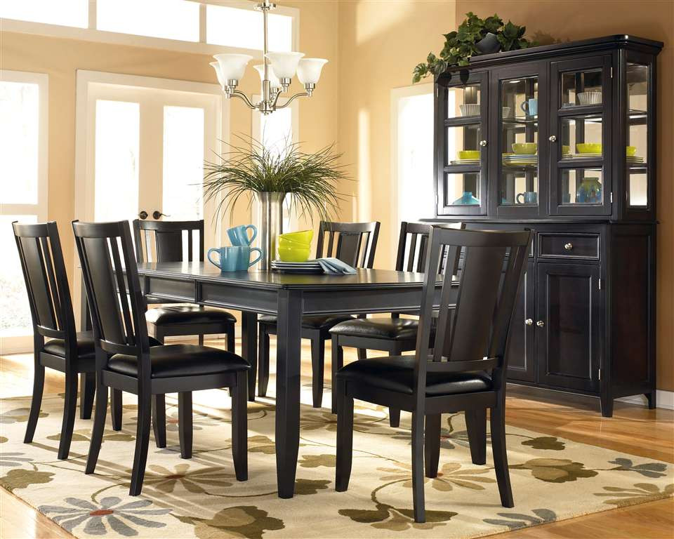 Best ideas about Black Dining Room Chairs . Save or Pin Oakwood Mobile Homes Now.