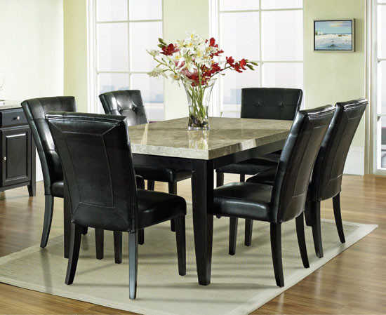 Best ideas about Black Dining Room Chairs . Save or Pin 33 Upholstered Dining Room Chairs Now.