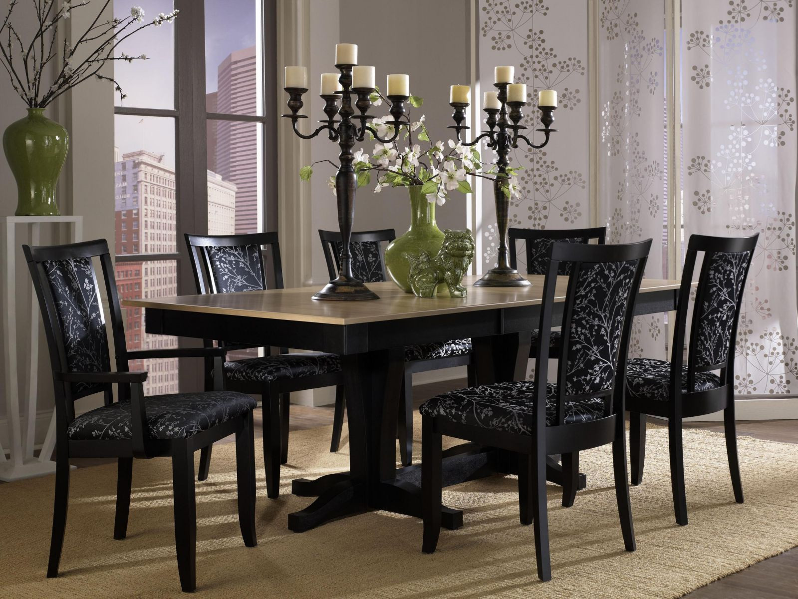 Best ideas about Black Dining Room Chairs . Save or Pin The Design Contemporary Dining Room Sets Amaza Design Now.