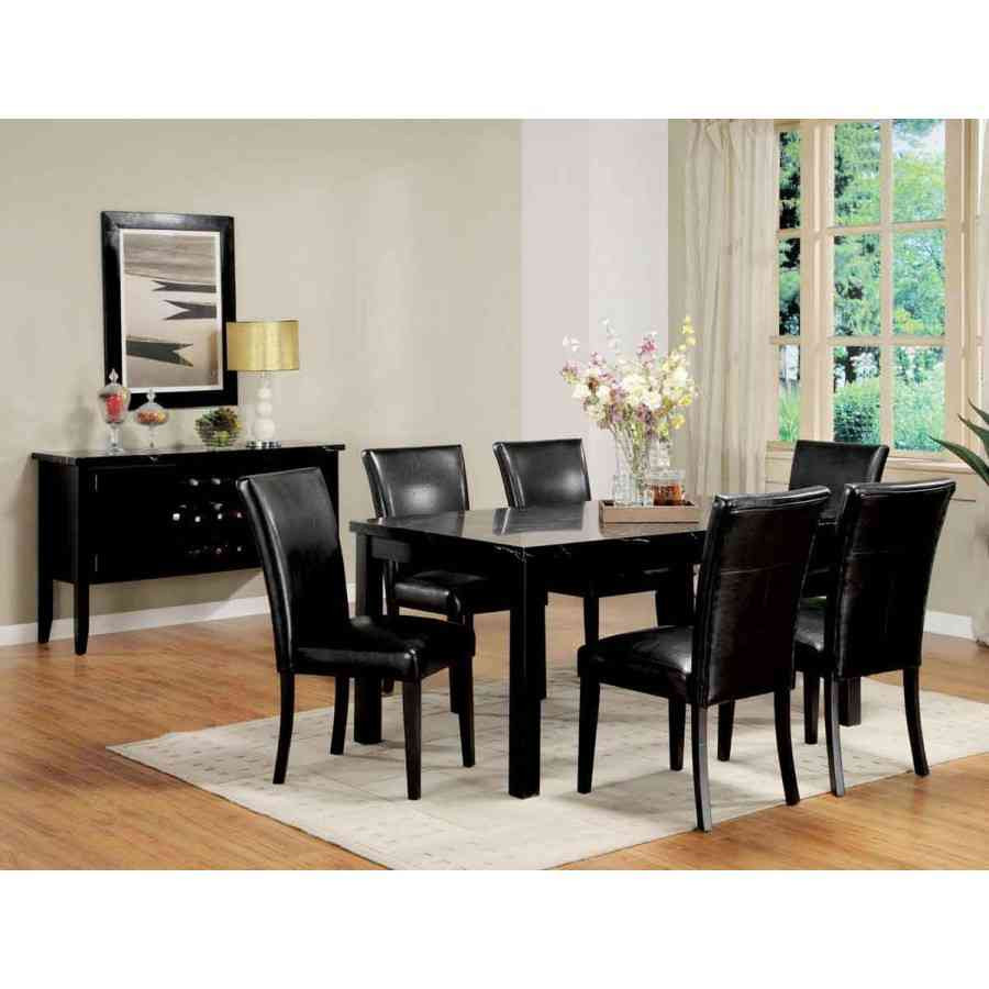 Best ideas about Black Dining Room Chairs . Save or Pin Furniture Unique Antique Black Also White Dining Room Now.