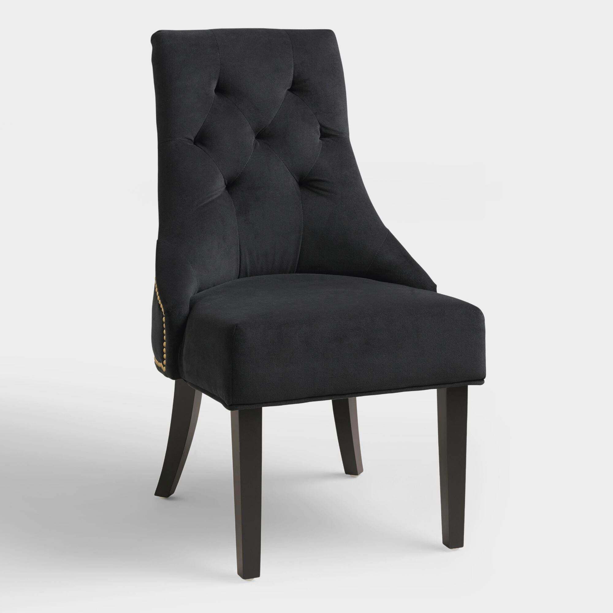 Best ideas about Black Dining Room Chairs . Save or Pin Black Lydia Dining Chairs Set of 2 Now.