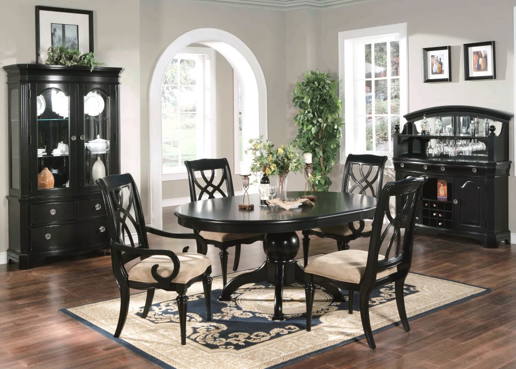 Best ideas about Black Dining Room Chairs . Save or Pin Formal Dining Sets Now.