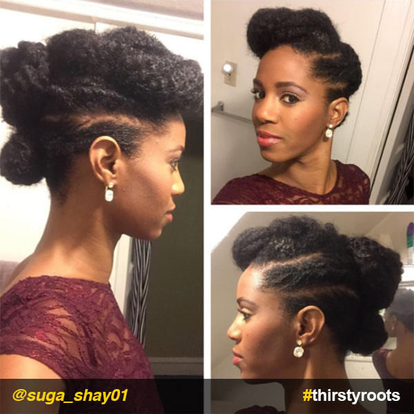 Best ideas about Black Natural Updo Hairstyles . Save or Pin 13 Natural Hair Updo Hairstyles You Can Create Now.