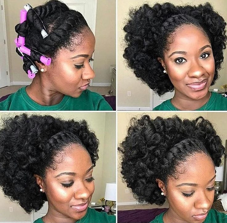 Best ideas about Black Natural Updo Hairstyles . Save or Pin 25 best Natural Black Hairstyles ideas on Pinterest Now.