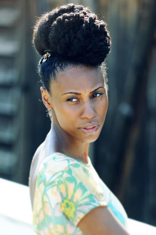 Best ideas about Black Natural Updo Hairstyles . Save or Pin Protective Hairstyles For Black Women – Natural Hair Updos Now.