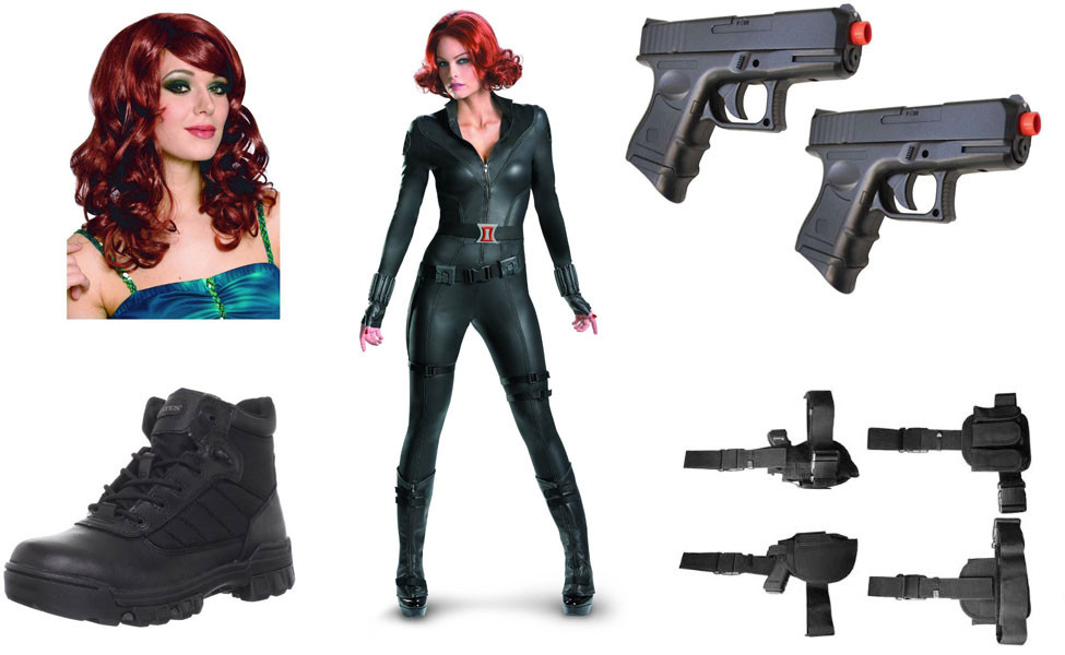 Best ideas about Black Widow Costume DIY . Save or Pin Black Widow Costume Now.