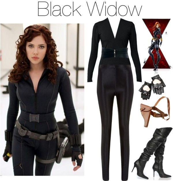 "Best ideas about Black Widow Costume DIY . Save or Pin ""black widow"" by grungeclothes liked on Polyvore Now."
