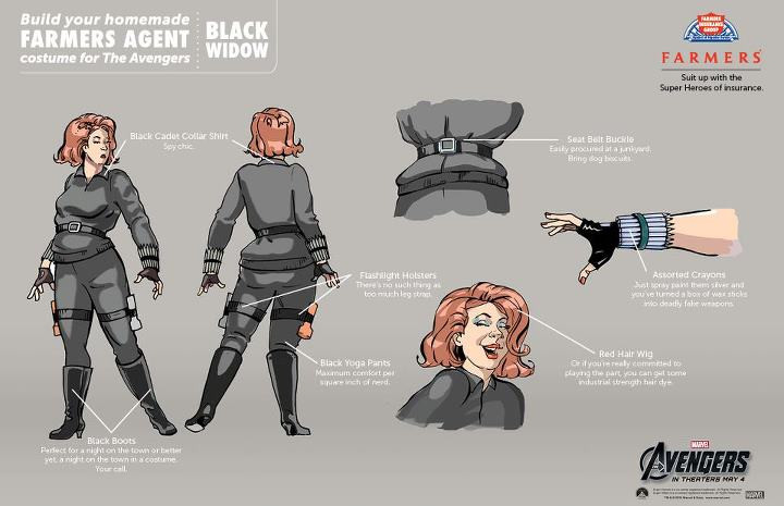 Best ideas about Black Widow Costume DIY . Save or Pin AVENGERS Do It Yourself Costumes Now.